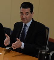 11/14/2018-- McLean, VA.  Scott Gottlieb, FDA commissioner. ORG XMIT:  TL 137642 Scott Gottlieb 11/14/2018 [Via MerlinFTP Drop]