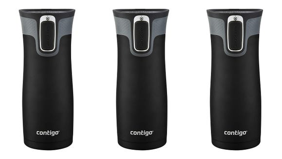 This sleek mug will keep your coffee hot until you remember to drink it