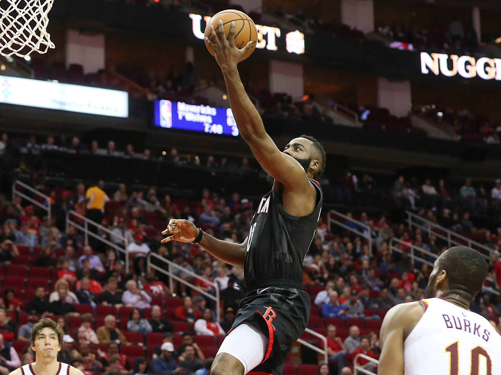 52. James Harden, Rockets (Jan. 11): 43 points, 12 assists, 10 rebounds in 141-113 win over Cavaliers (sixth of season).