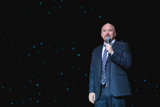 Louis C.K. is getting support from his friend Janeane Garofalo.