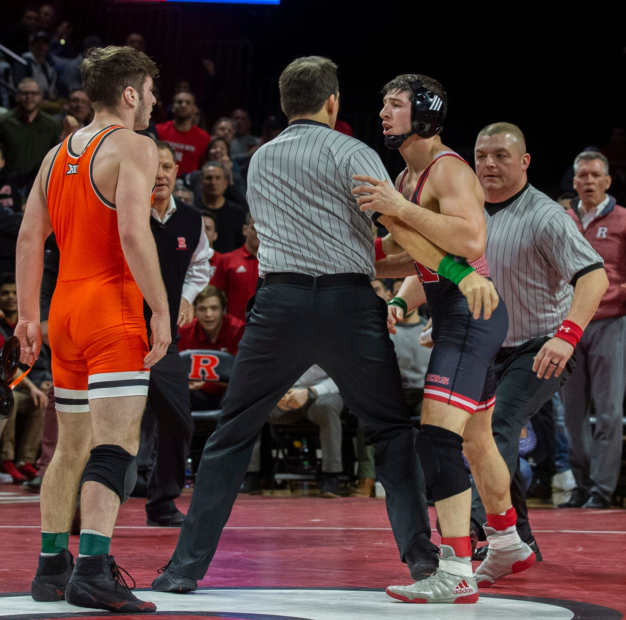 College wrestling: Nick Suriano of Rutgers defeated in controversial, wild bout