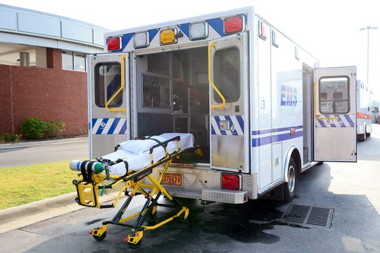 Buncombe County's new fleet of ambulances do have an option for European-sounding siren tones.