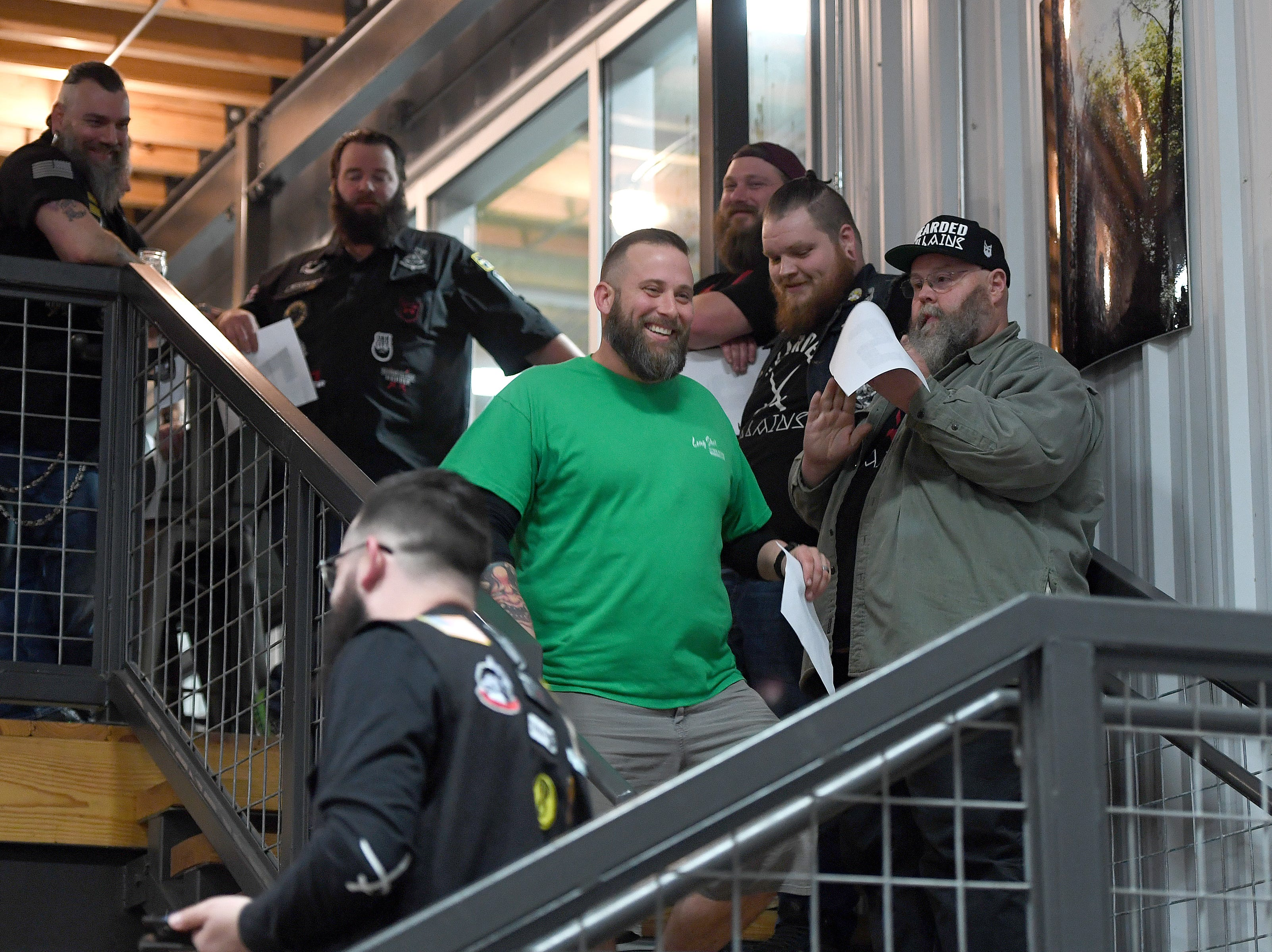 Bold Rock Hard Cider hosted the Winter Beardfest at Bold Rock Hard Cider in Mills River on Jan. 12, 2019 which included a beard competition. Proceeds from the competition benefitted the Black Mountain Home Foster Care. Organizers are hoping to make the event annual.