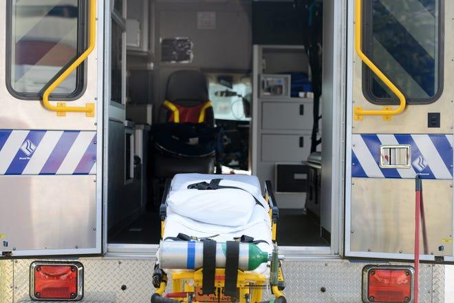 An ambulance at Mission Hospital.