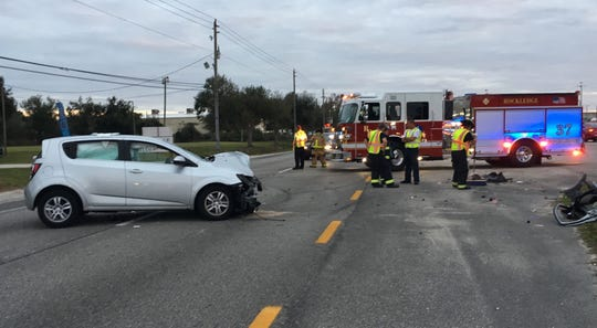 Crash reported in Rockledge