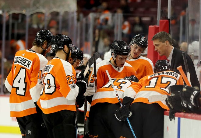 The Flyers' power play, operating at 12.8 percent, hasn't been this bad since their inaugural 1967-68 season.