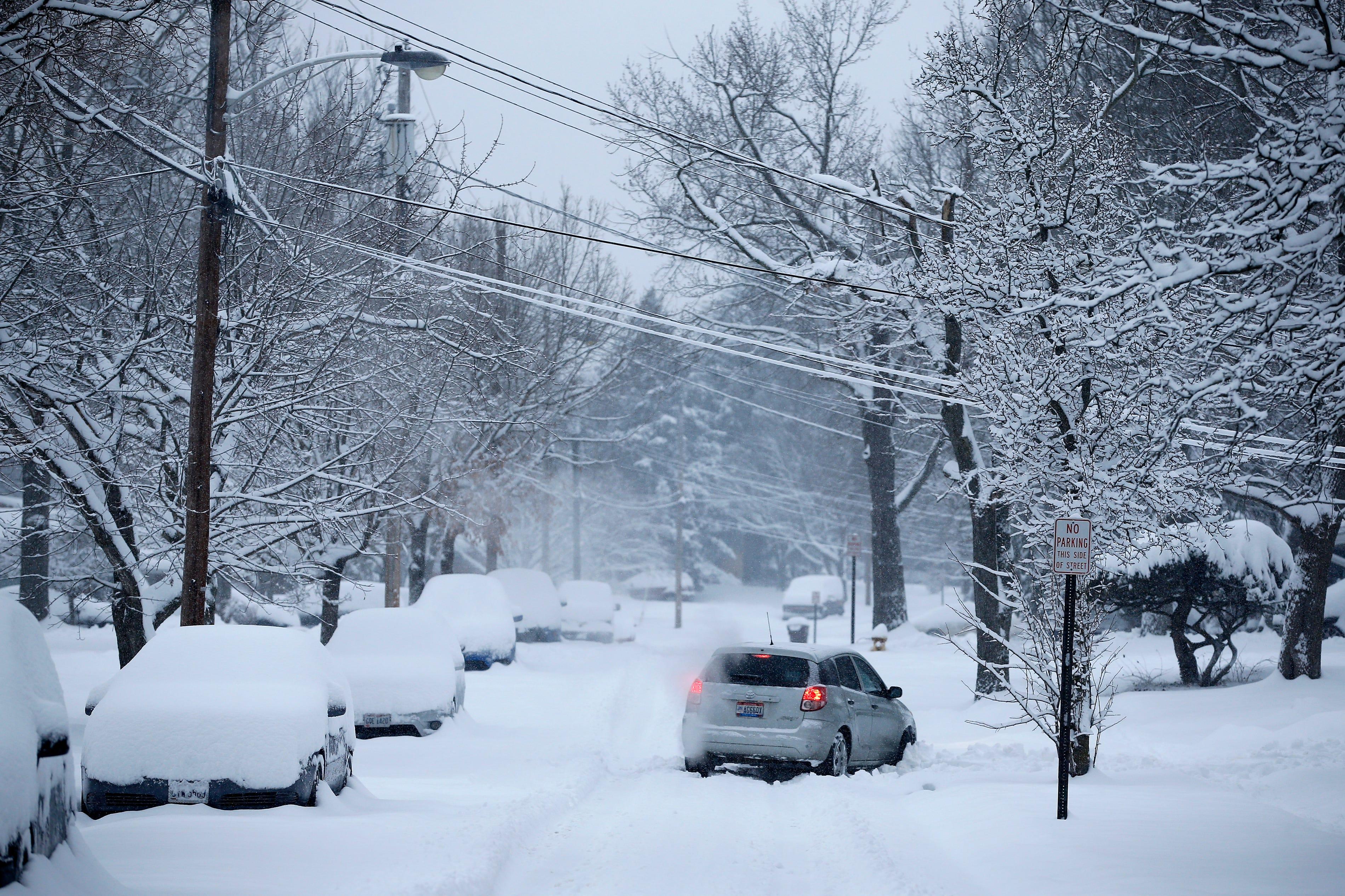 Cincinnati weather: See this weekend's snow predictions