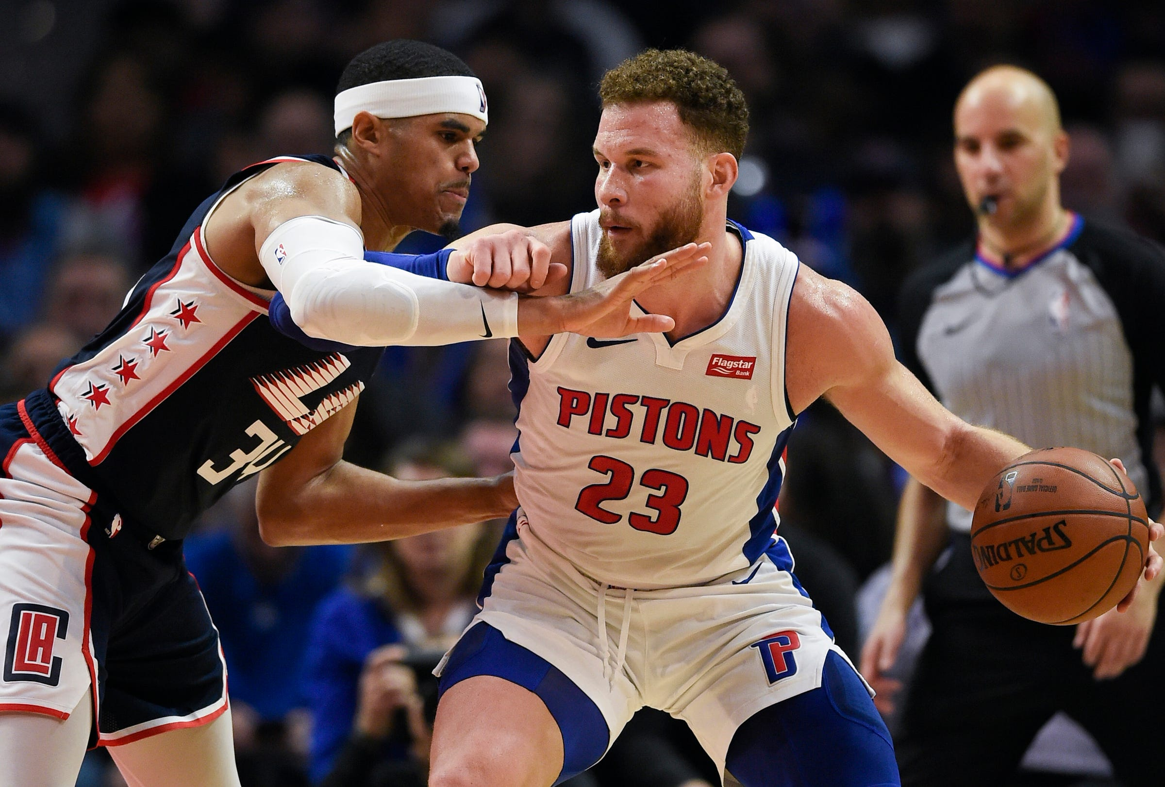 on sale 4f7c1 b8465 Blake Griffin trade: Analyzing the Pistons-Clippers deal, one year later