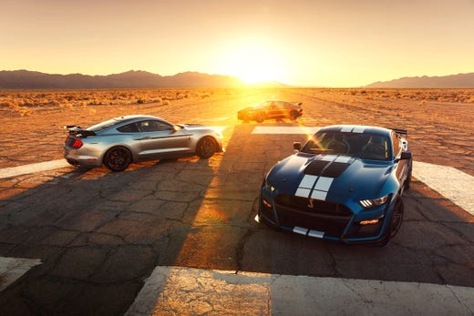 Ford reveals 2020 Mustang Shelby GT500 horsepower, torque