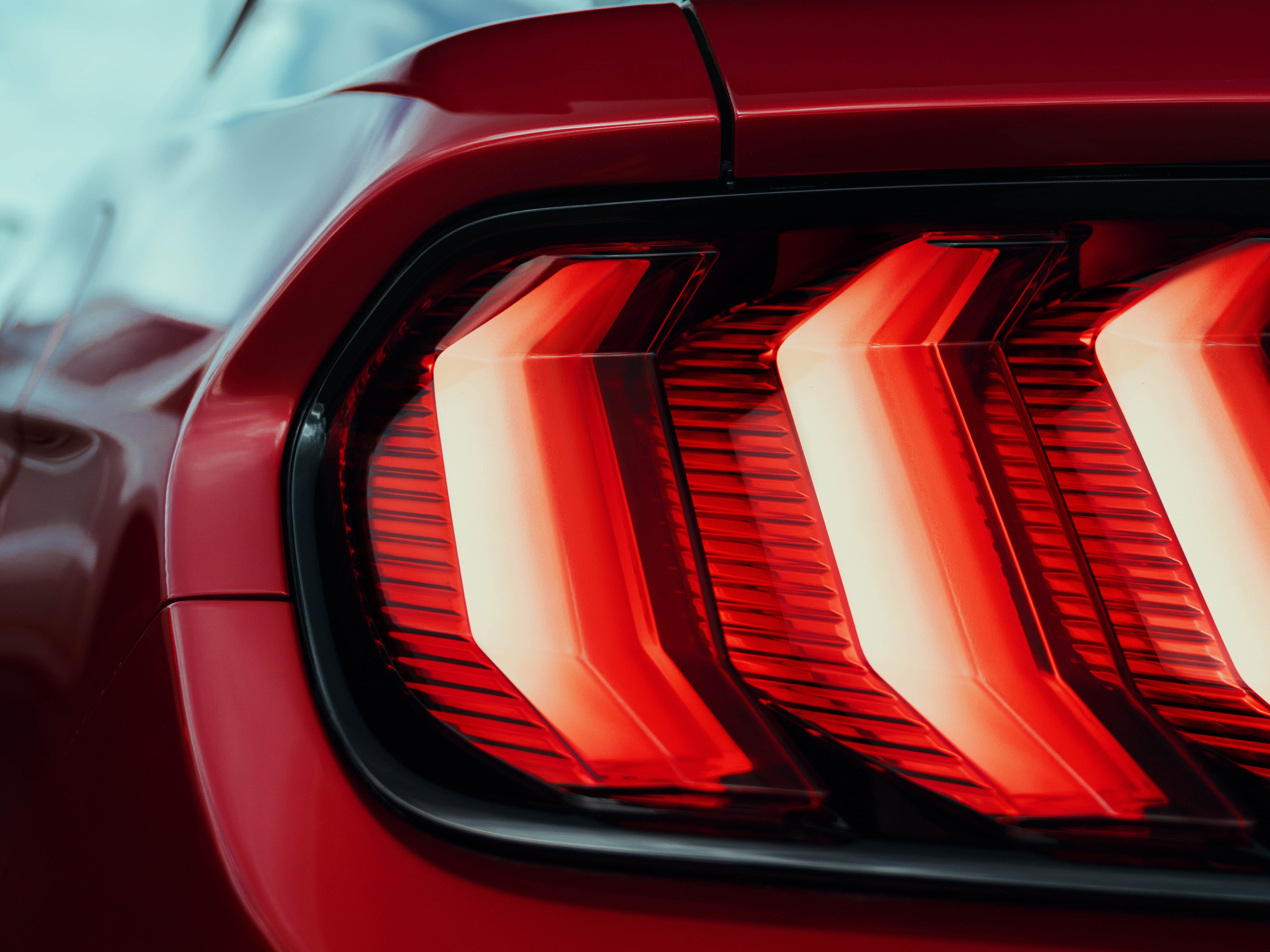 This is the tail light and triple blinker.