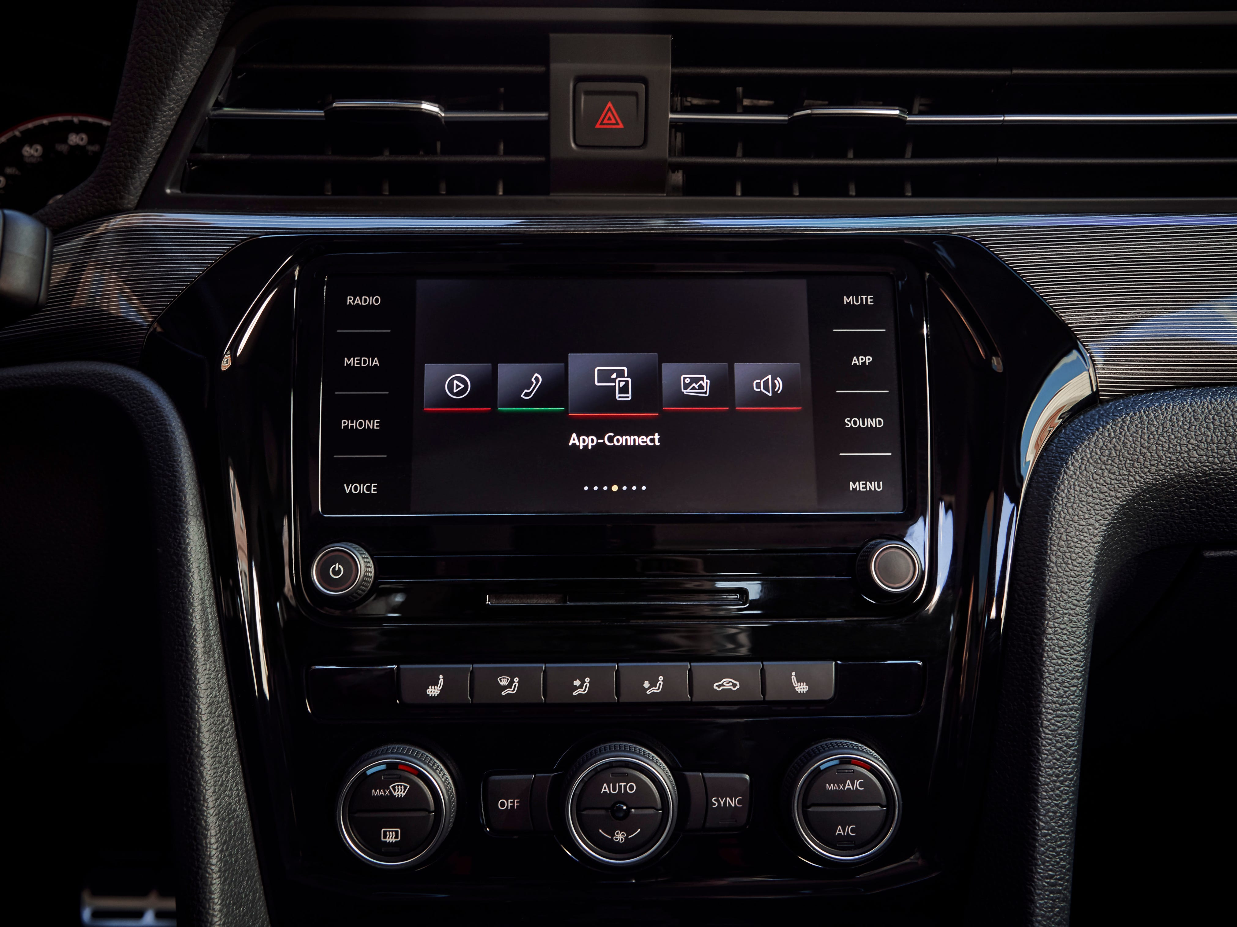 To help keep occupants comfortable, Passat offers available heated front and rear seats, power driver's seat with memory and dualzone Climatronic® automatic climate control.