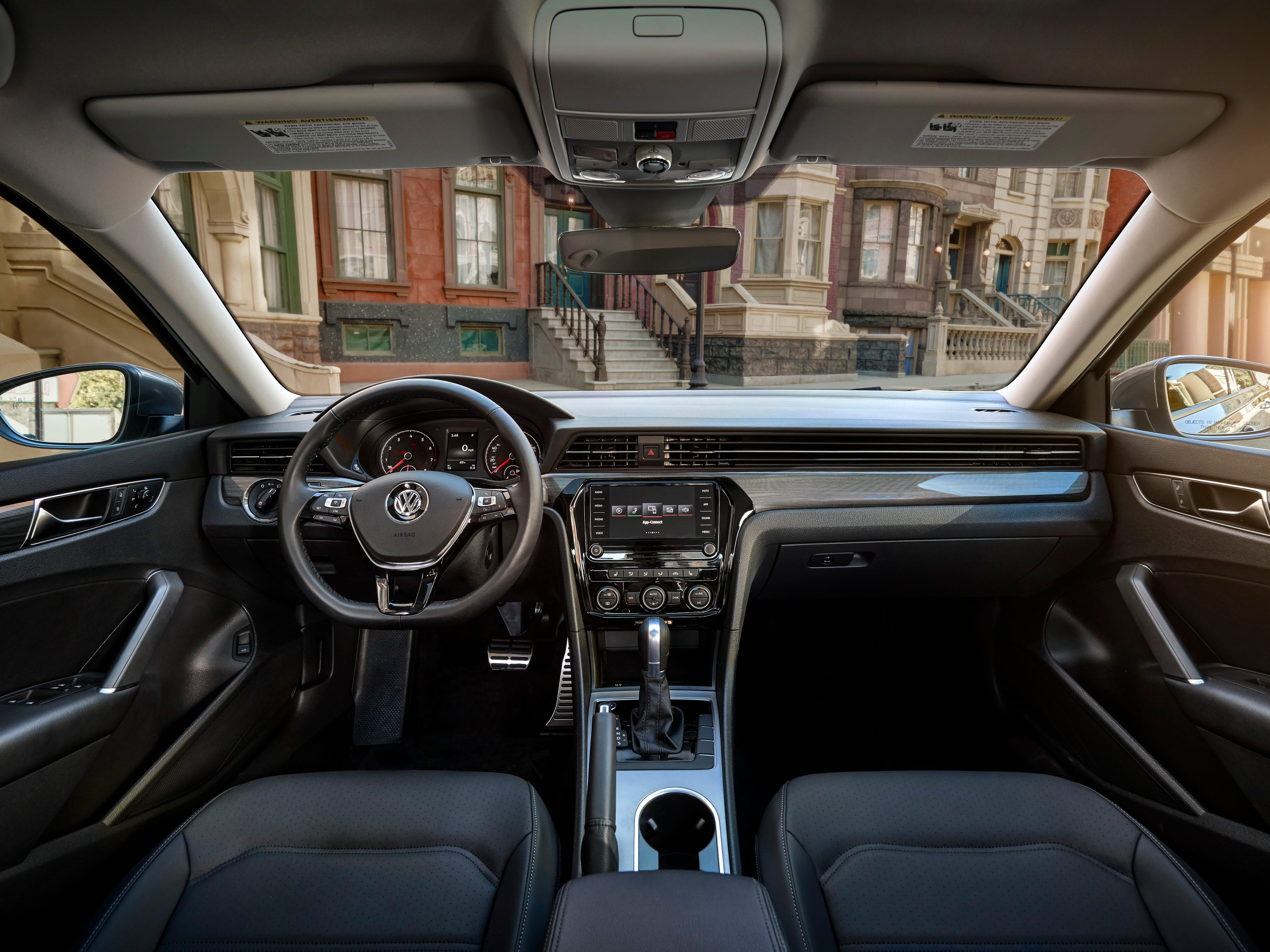 Three interior décor designs are available, based on trim. Volkswagen's V-Tex leatherette and Nappa leather seating surfaces are available in addition to the standard cloth seats.  Four color options are offered.