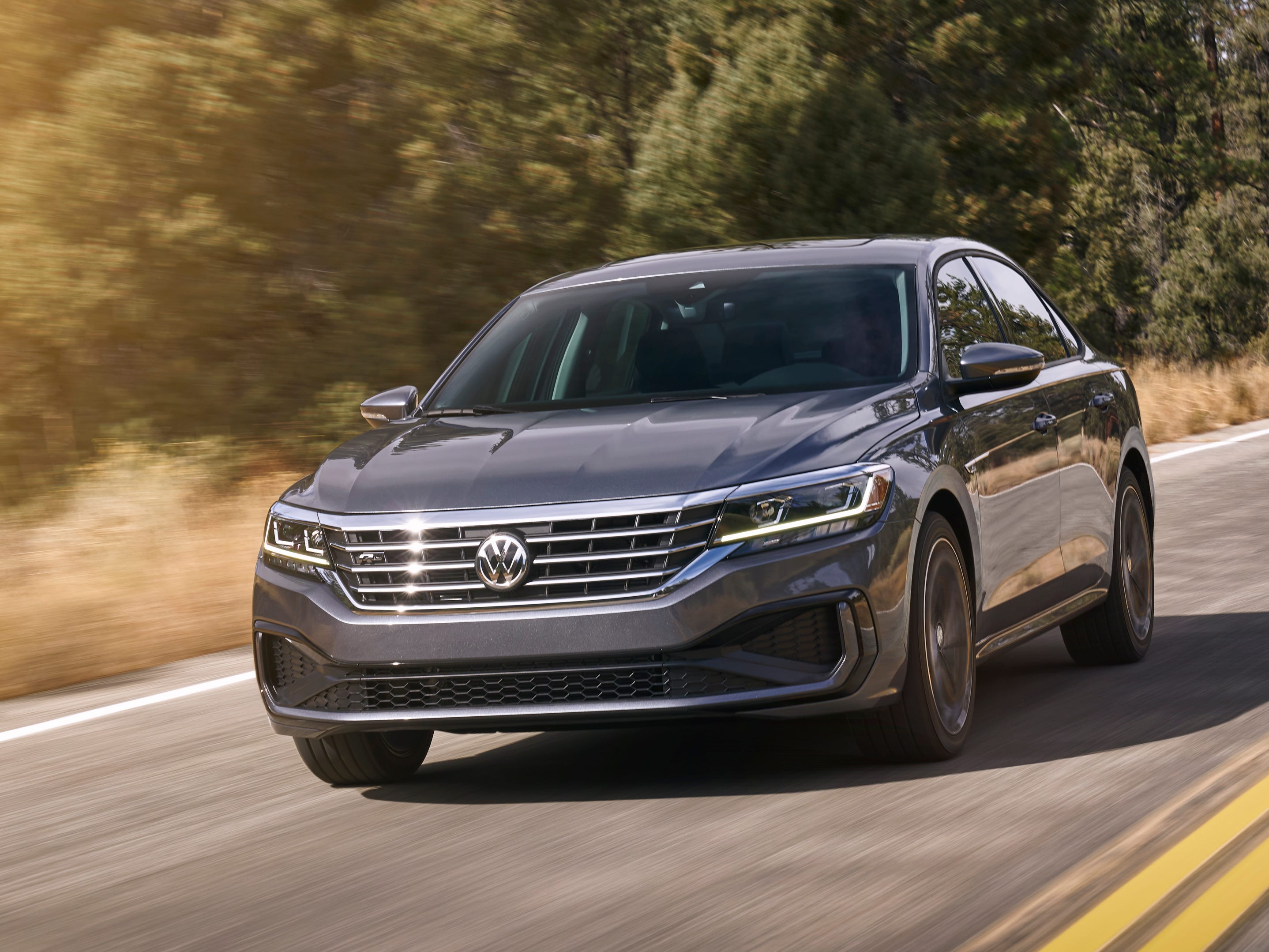 The new Passat offers a comprehensive suite of standard and available driver-assistance technology. Every Passat includes standard Forward Collision Warning and Autonomous Emergency Braking (Front Assist), now with Pedestrian Monitoring, as well as Blind Spot Monitor, and Rear Traffic Alert.