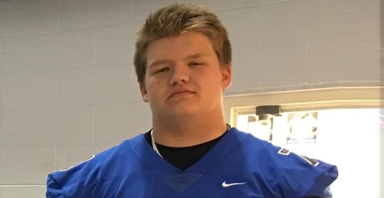 Ypsilanti Lincoln lineman Tate Mackenzie recently received a scholarship offer from Michigan.