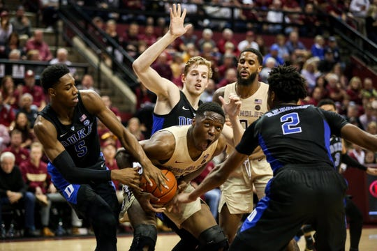 Despite a valiant effort, Florida State fell just short during a 80-78 loss to Duke at the Tucker Center on Saturday afternoon.