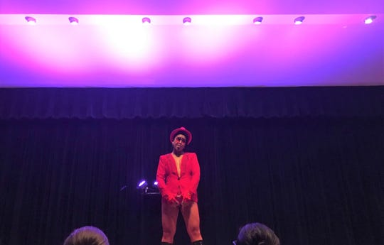 "Pride FSU hosted the ""In Their Element"" drag performance last weekend at Moore Auditorium which featured various takes on earth, wind, fire and water."