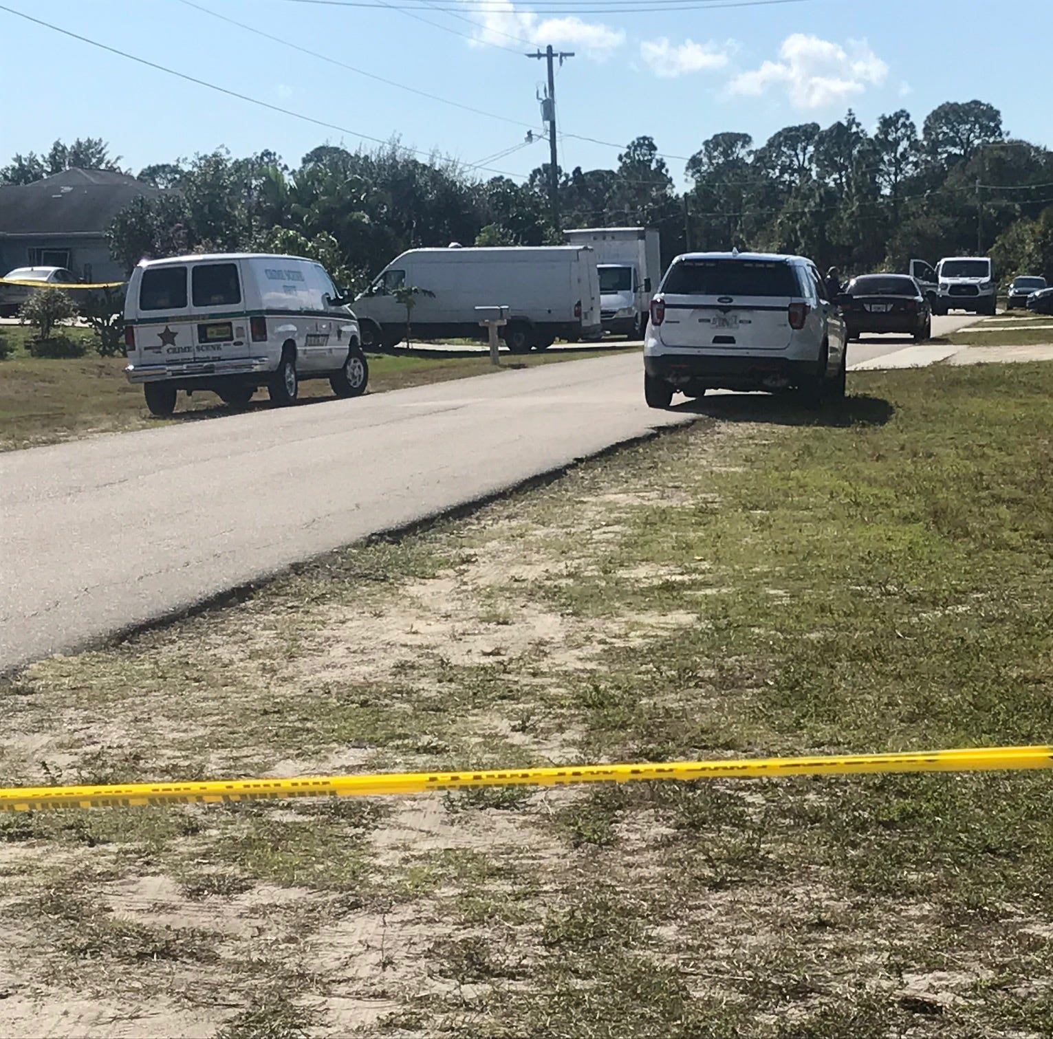 Man's shooting death a homicide investigation in Lehigh Acres neighborhood