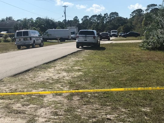 A section of Golfview Boulevard in Lehigh Acres was cordoned off with crime scene tape after the Lee County Sheriff's Office responded to a medical emergency involving a man. The man later died in the hospital and the incident was declared a homicide investigation.