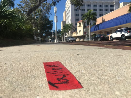 Some people who taped off viewing spots for the Edison Festival of Light Grand Parade early have had to move because of a change in the parade route.