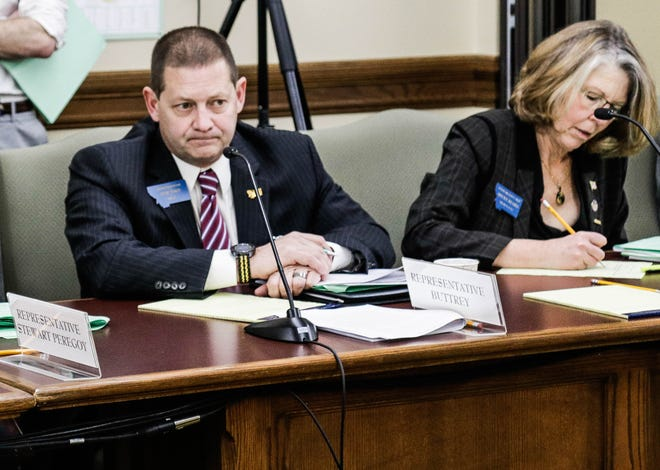 "A Republican from Great Falls is a key member of the solutions caucus, especially considering he carried the bill that passed Medicaid expansion in 2015. Rep. Ed Buttrey, left, says the caucus has come up with some ""pretty darn good"" ideas. Jan. 8, 2019."