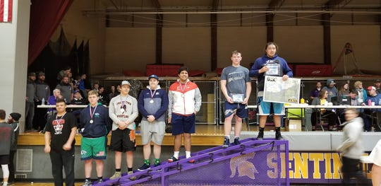 Great Falls High's Ethan DeRoche picked up an individual title at the Jug Beck Rocky Mountain Classic in Missoula Saturday at 285.