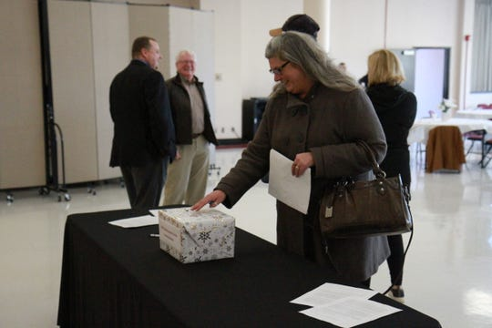 "The ""Meet and Greet"" included comment sheets and a comment box for any questions that were unasked or asked in discretion."