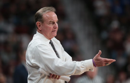 Mississippi State's Vic Schaefer was up late after his team's win over Georgia studying film. He wants his team to play up to its full potential. by Keith Warren