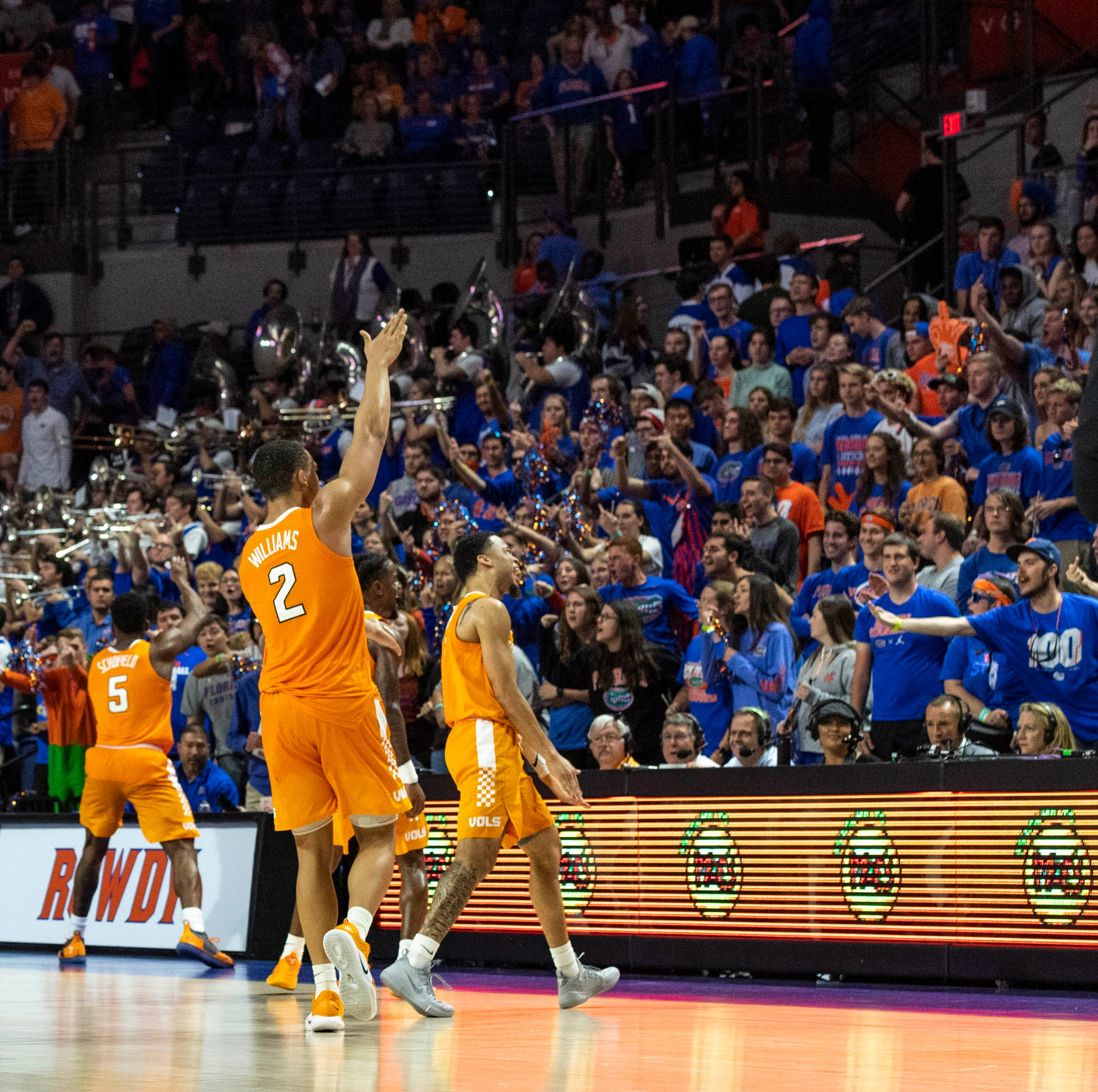 What UT Vols basketball coach Rick Barnes thought about Gator chomp celebration