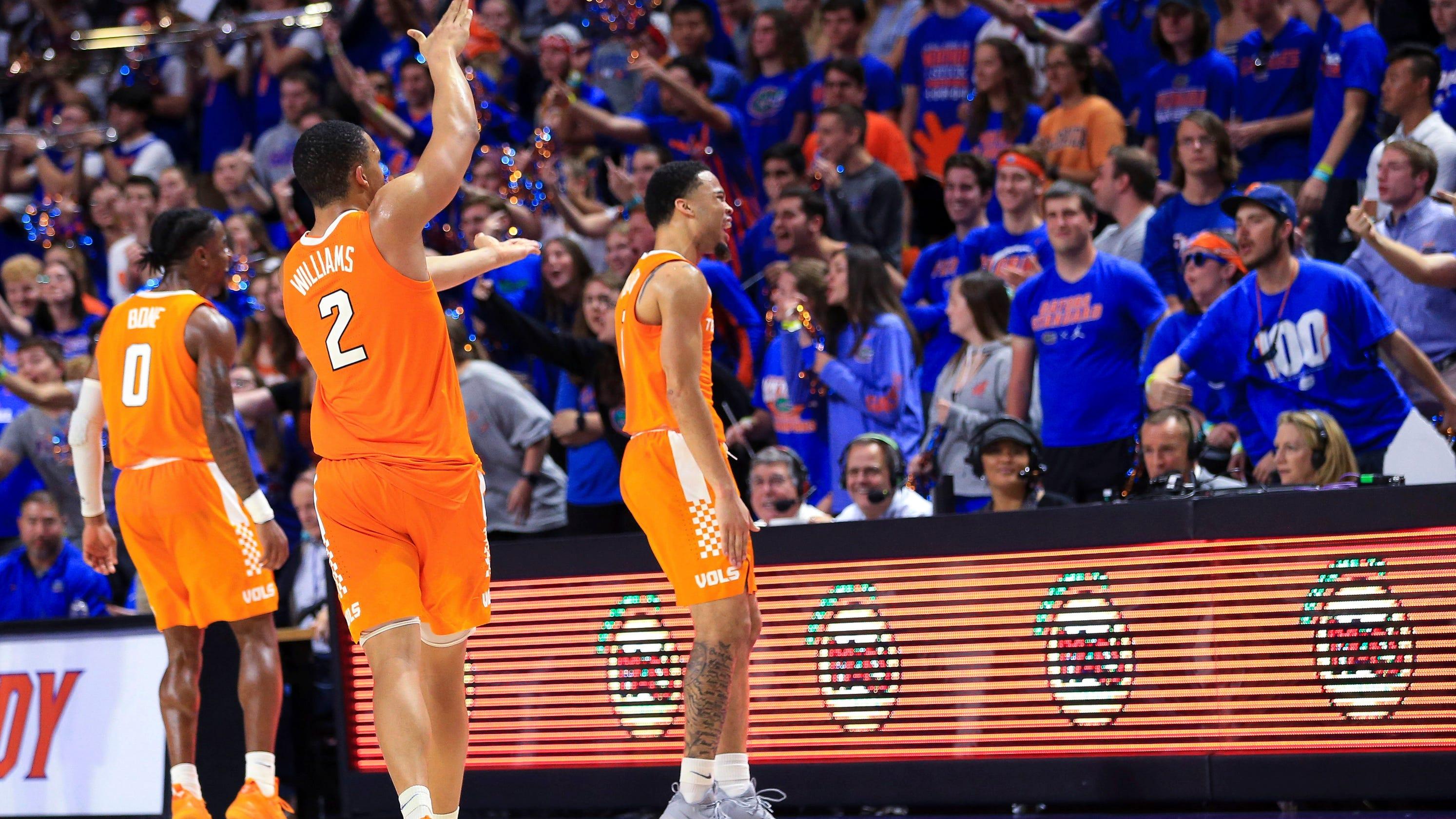 UT Vols  Admiral Schofield explains why Tennessee basketball did Gator  chomp vs Florida 80ec67c8d