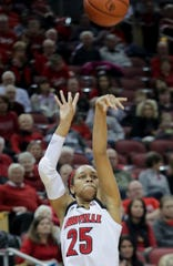 Asia Durr was a walking highlight reel in four years at Louisville.