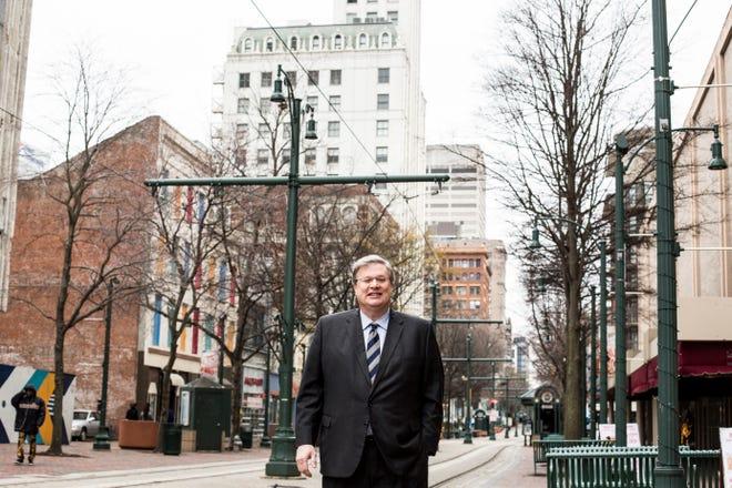 January 13 2019 - Memphis Mayor Jim Strickland.