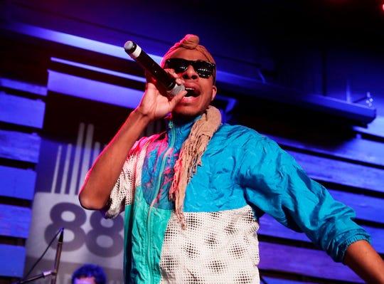 Milwaukee singer-songwriter Lex Allen won artist of the year at the Wisconsin Area Music Industry Awards Sunday at Turner Hall Ballroom in Milwaukee.
