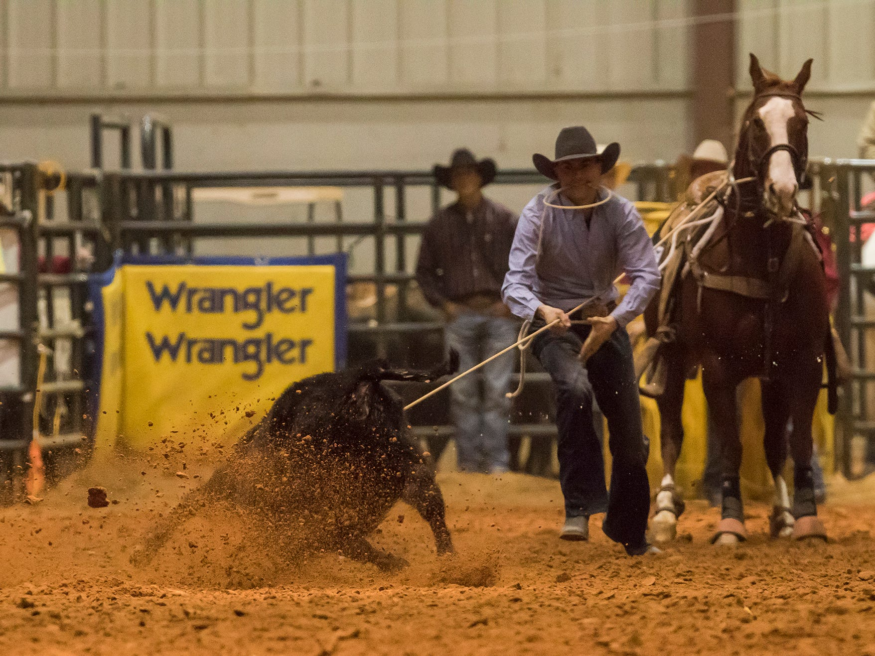 The Pete Carr Classic Pro Rodeo visited the Ike Hamilton Expo Center in West Monroe, La. for the 2019 Stampede at the Ike on Jan. 12.