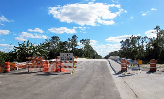 The EighthStreet Northeast bridge over the Cypress Canal in Golden Gate Estates is expected to open by late February 2019.