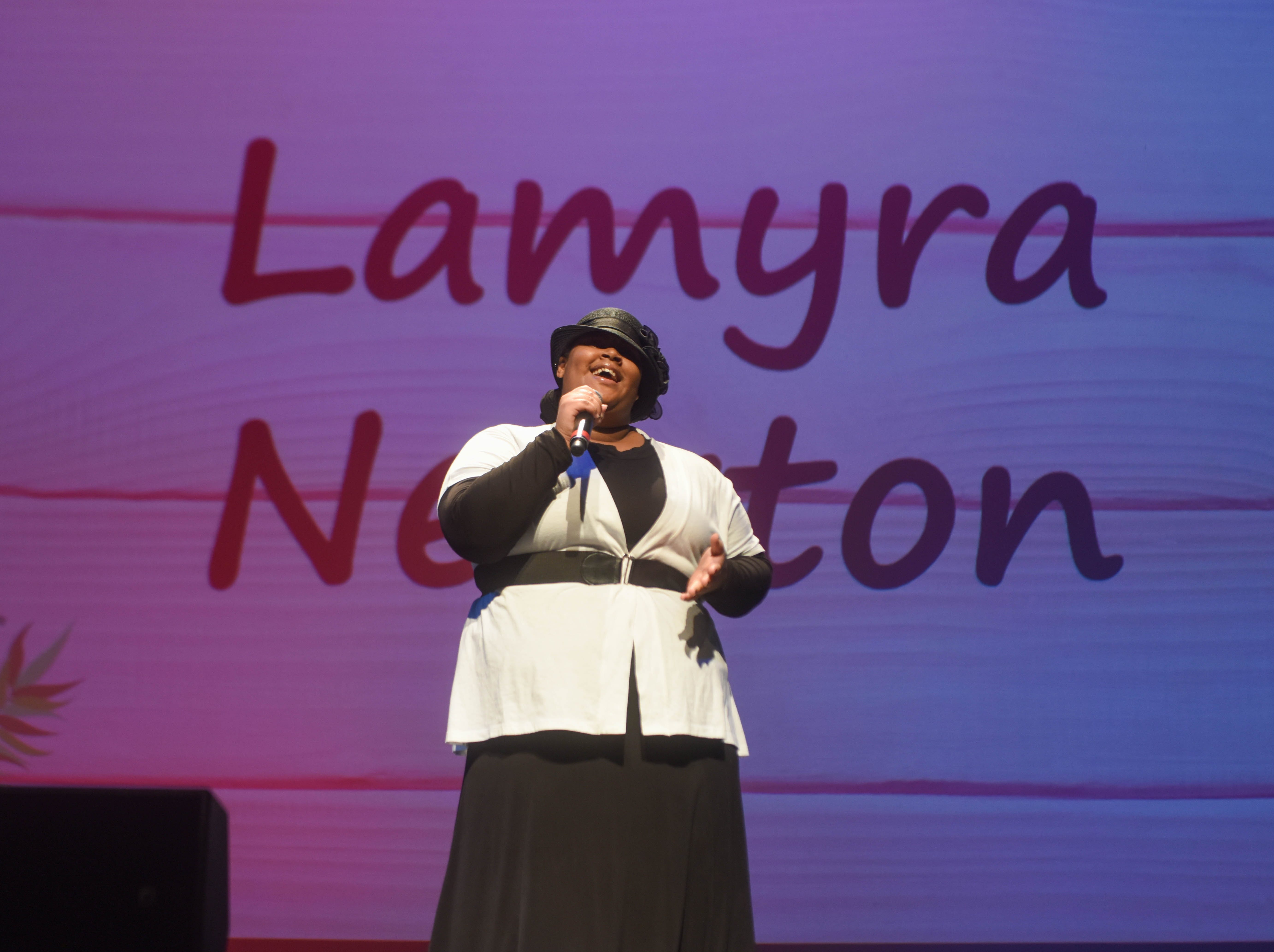 Lamyra Newton. The 2019 Englewood Idol was held at bergenPAC theater. The singing competition is open to any high school student who currently lives or goes to school in Englewood, NJ. This years winner was Genesis Capellan. 01/11/2019