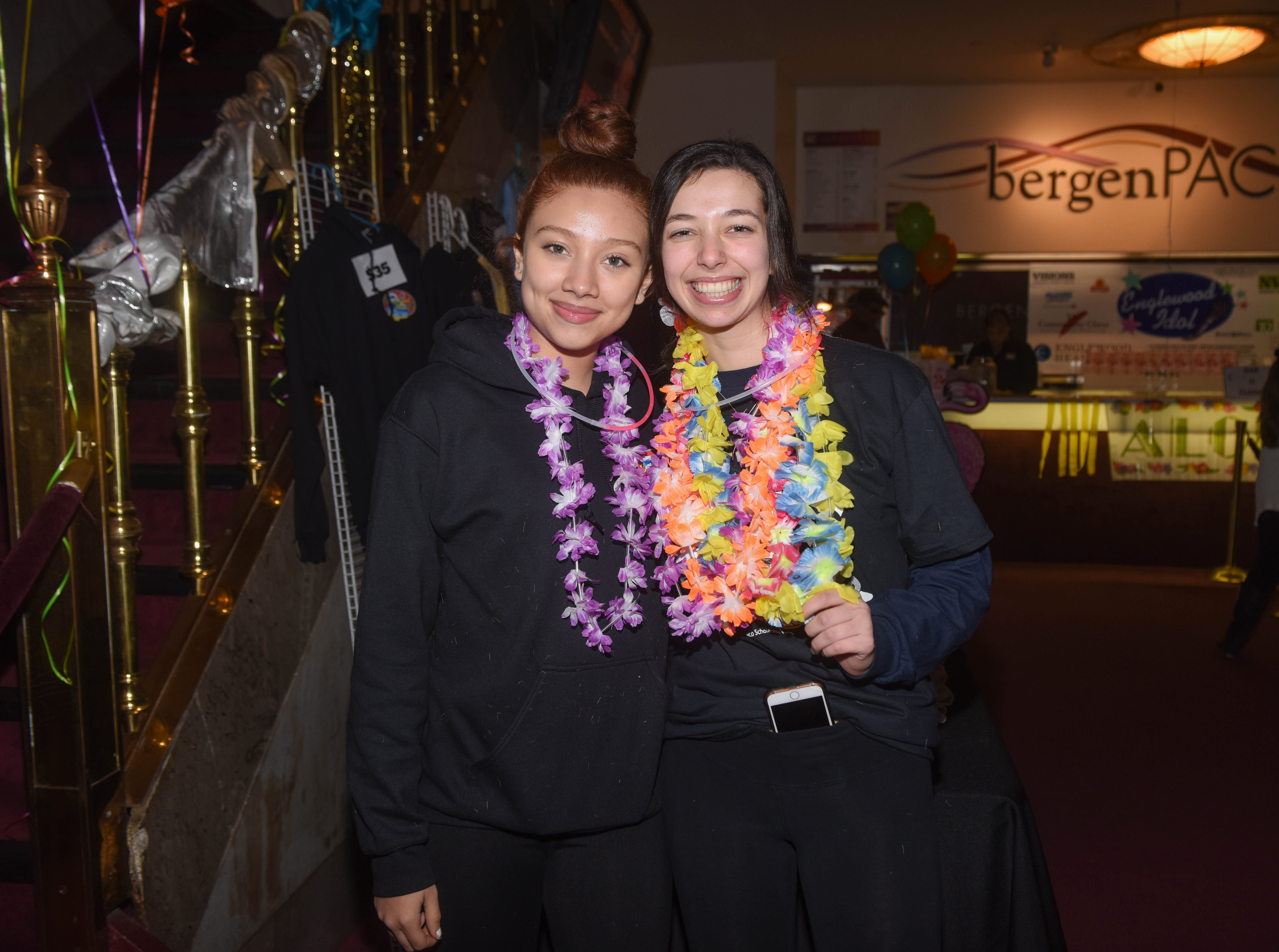 Rebecca Reyes and Emilia Bern. The 2019 Englewood Idol was held at bergenPAC theater. The singing competition is open to any high school student who currently lives or goes to school in Englewood, NJ. This years winner was Genesis Capellan. 01/11/2019