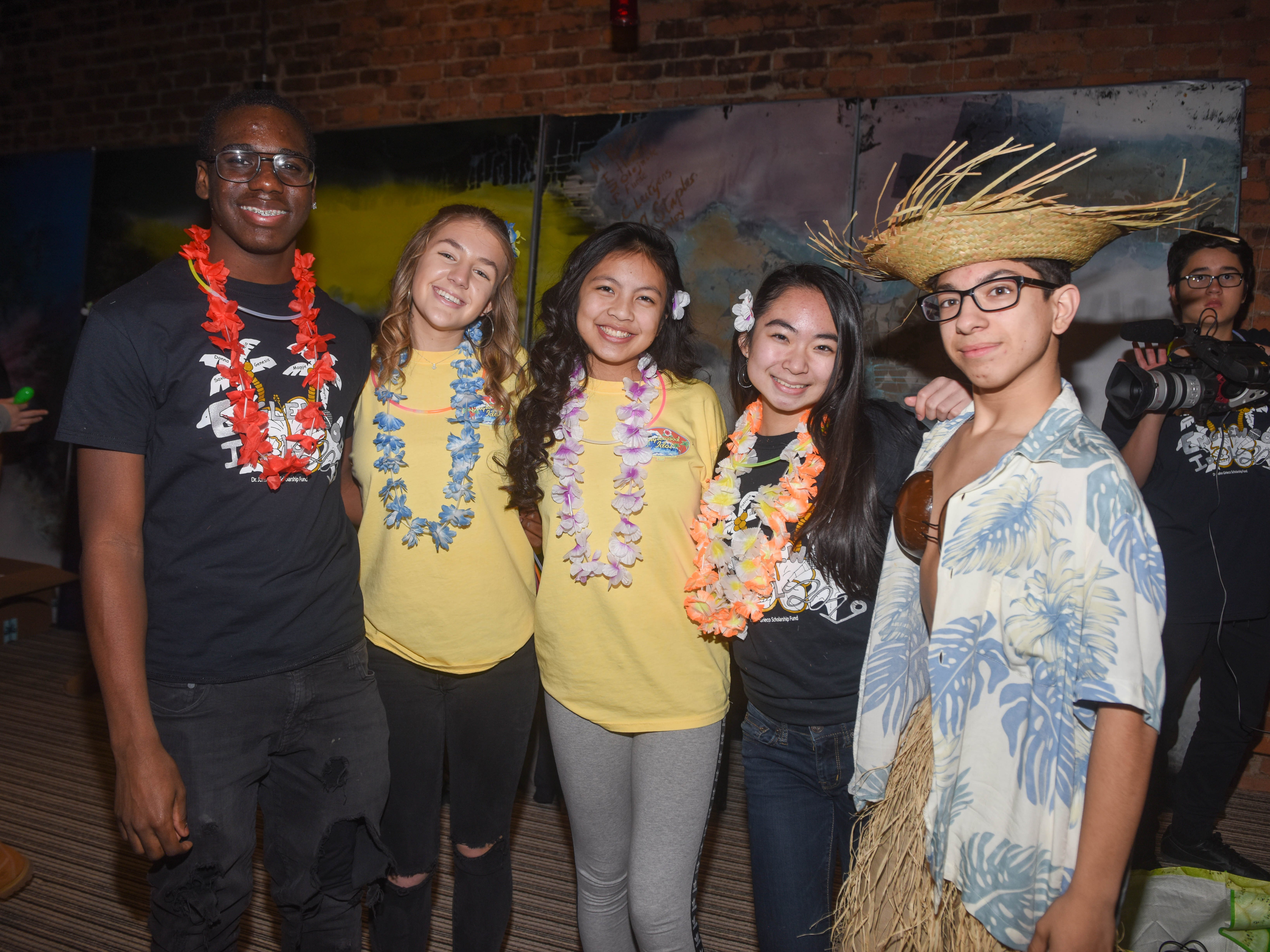 Chris Butcher, Kaylea Powell, Kiana Ong, Sienna Tu and Joey Liberti. The 2019 Englewood Idol was held at bergenPAC theater. The singing competition is open to any high school student who currently lives or goes to school in Englewood, NJ. This years winner was Genesis Capellan. 01/11/2019