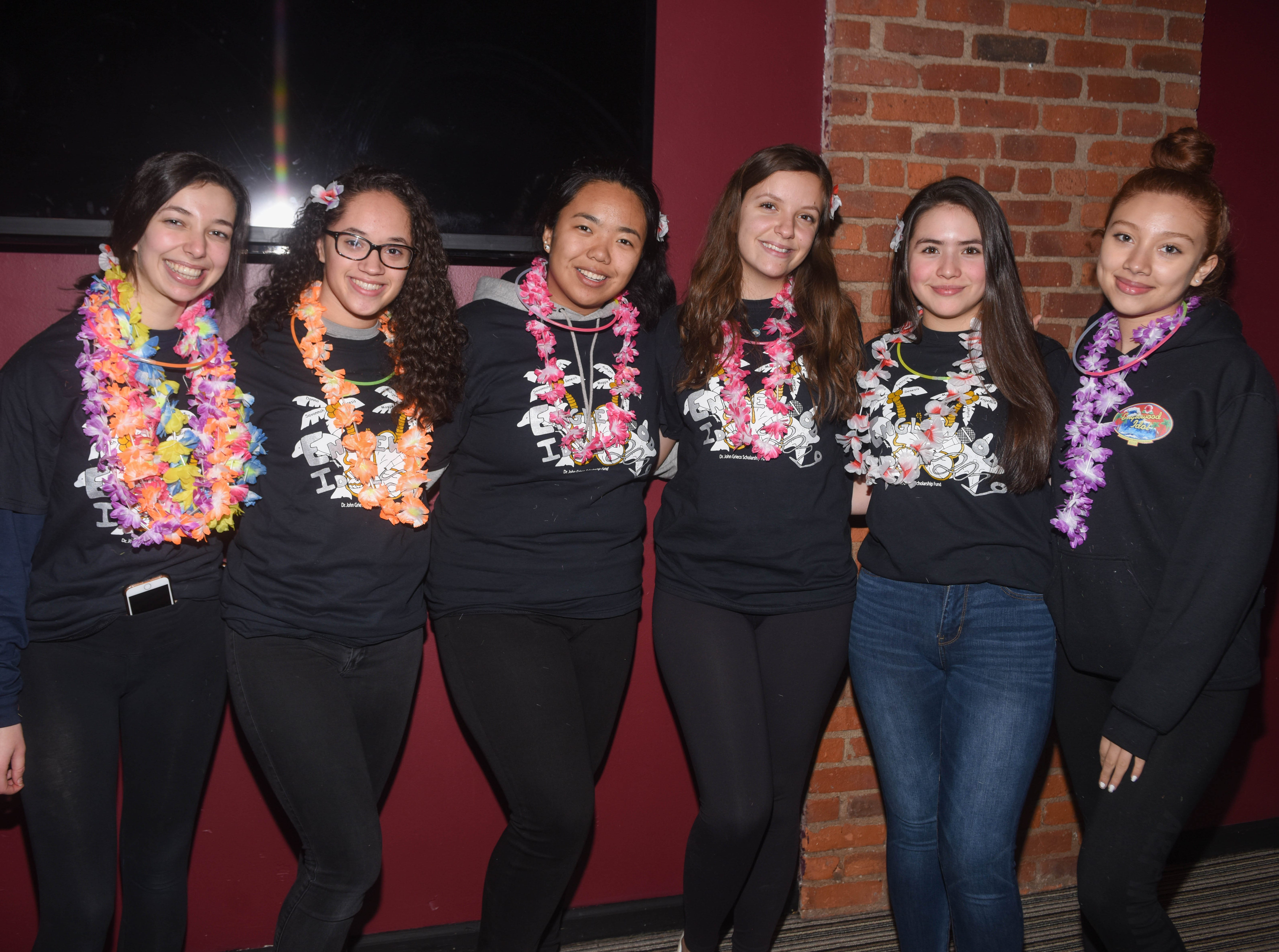Emilia Bern, Sofia Figueroa, Dekyi Tsotsong, Klaudia Spahiu, Nelufar Shatursun and Rebecca Reyes. The 2019 Englewood Idol was held at bergenPAC theater. The singing competition is open to any high school student who currently lives or goes to school in Englewood, NJ. This years winner was Genesis Capellan. 01/11/2019