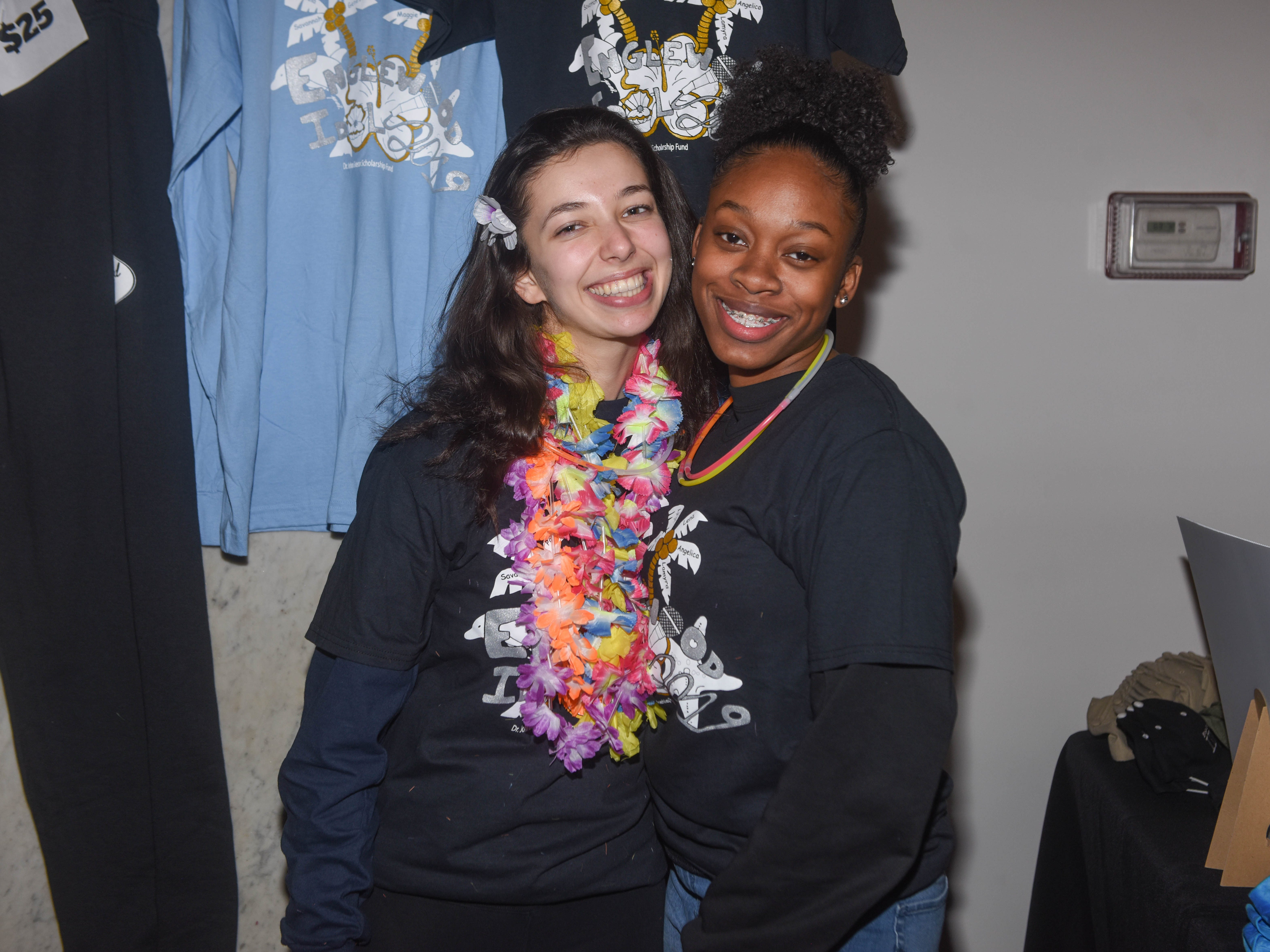 Emilia Bern and Sarai Crawford. The 2019 Englewood Idol was held at bergenPAC theater. The singing competition is open to any high school student who currently lives or goes to school in Englewood, NJ. This years winner was Genesis Capellan. 01/11/2019