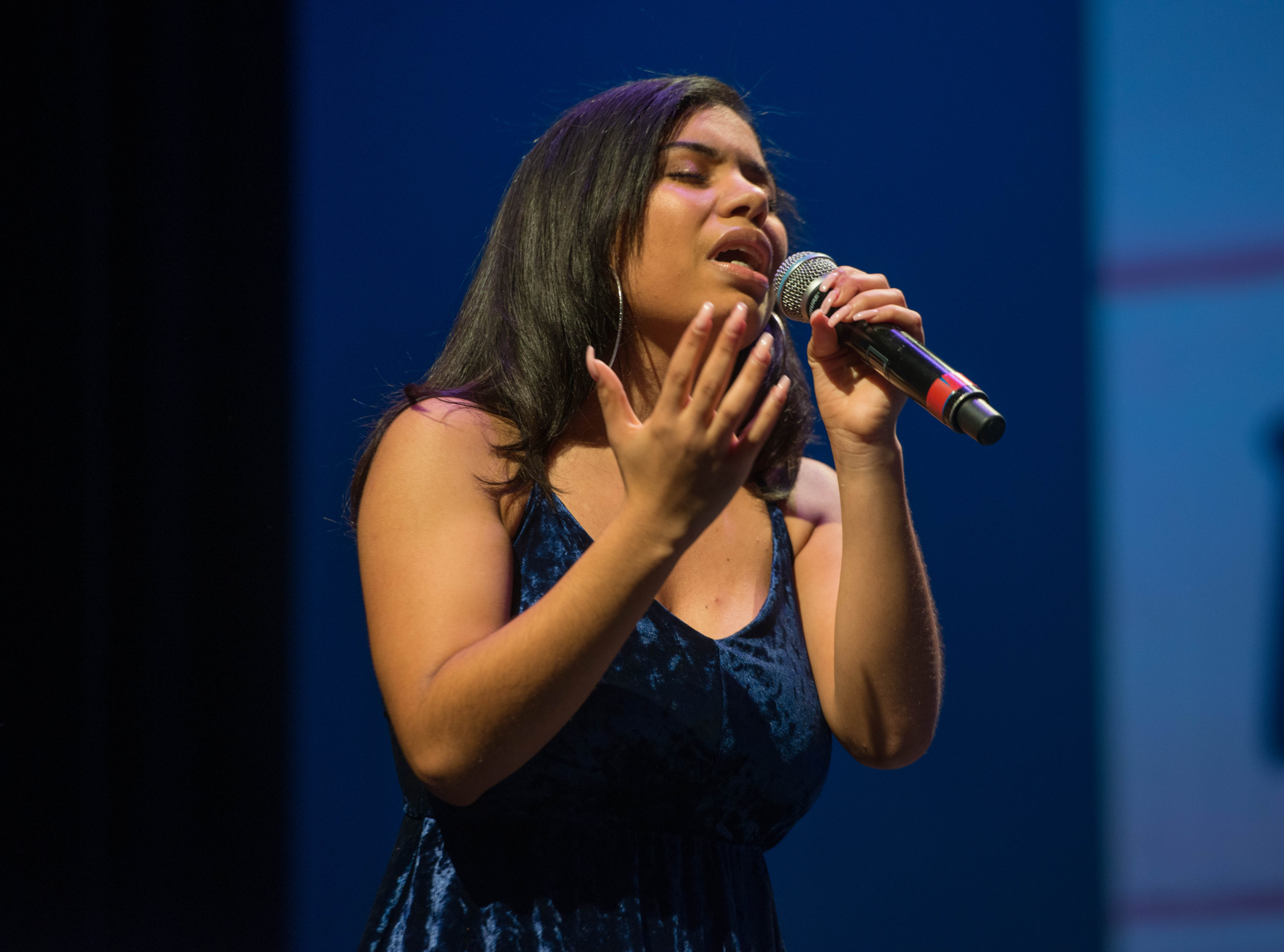 Patricia Parker (2019 Englewood Idol First Runner Up). The 2019 Englewood Idol was held at bergenPAC theater. The singing competition is open to any high school student who currently lives or goes to school in Englewood, NJ. This years winner was Genesis Capellan. 01/11/2019