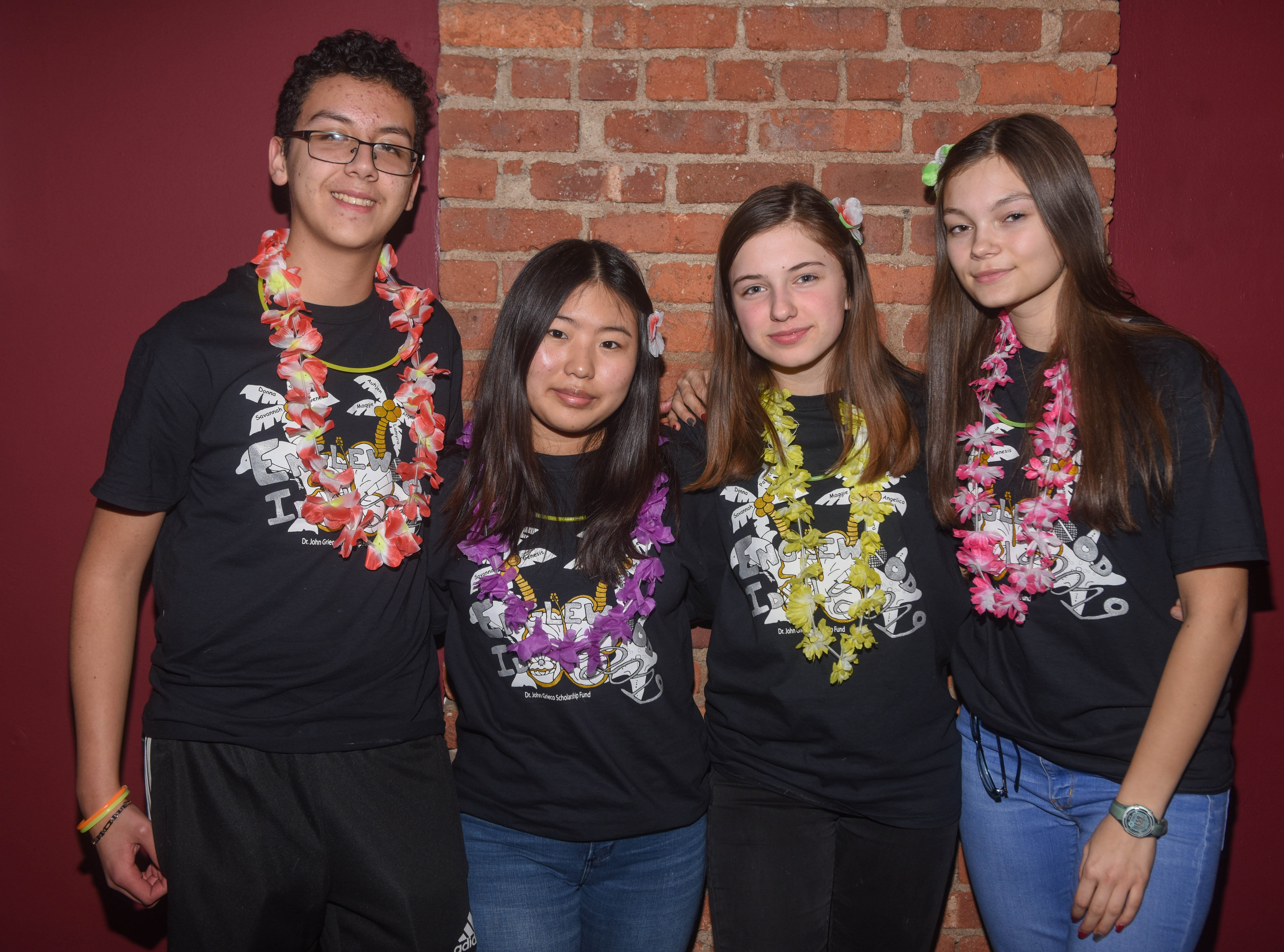 Alejandro Jaramillo, Hannah Yang, Pauline Malic and Natalia Wojtala. The 2019 Englewood Idol was held at bergenPAC theater. The singing competition is open to any high school student who currently lives or goes to school in Englewood, NJ. This years winner was Genesis Capellan. 01/11/2019