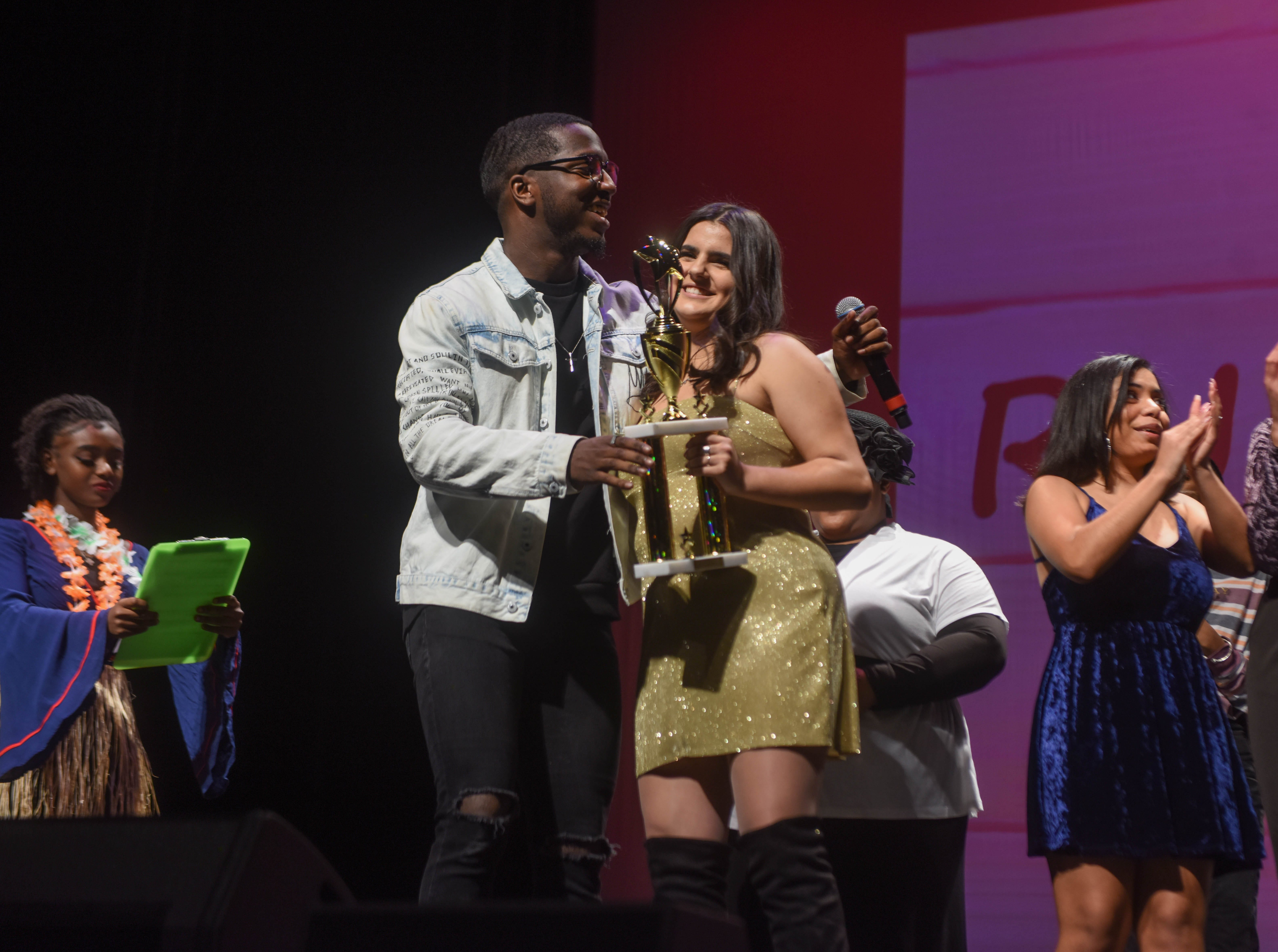 Lena Graf (2019 Englewood Idol Second Runner Up). The 2019 Englewood Idol was held at bergenPAC theater. The singing competition is open to any high school student who currently lives or goes to school in Englewood, NJ. This years winner was Genesis Capellan. 01/11/2019