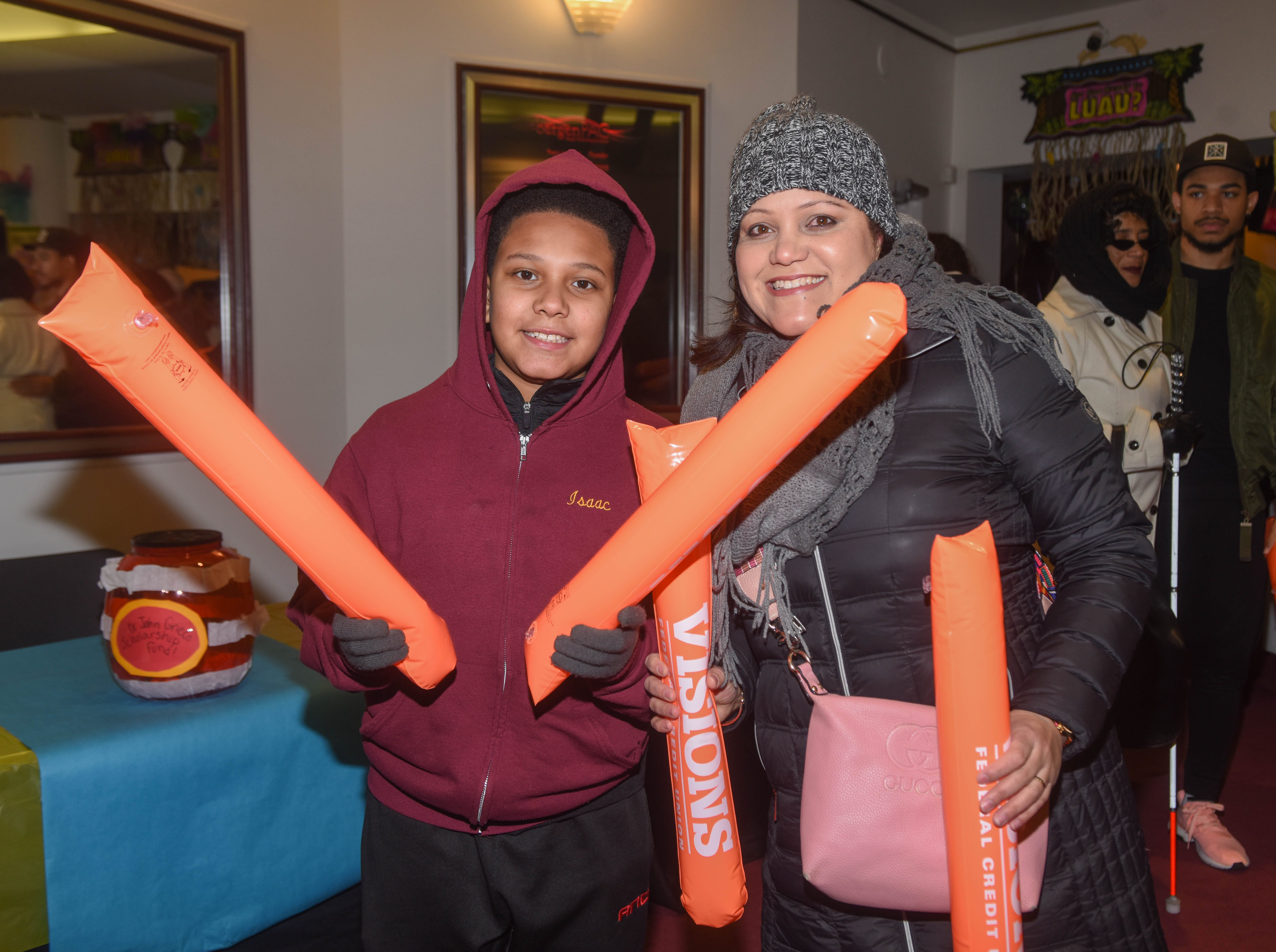 Isaac and Nika Joaquin. The 2019 Englewood Idol was held at bergenPAC theater. The singing competition is open to any high school student who currently lives or goes to school in Englewood, NJ. This years winner was Genesis Capellan. 01/11/2019