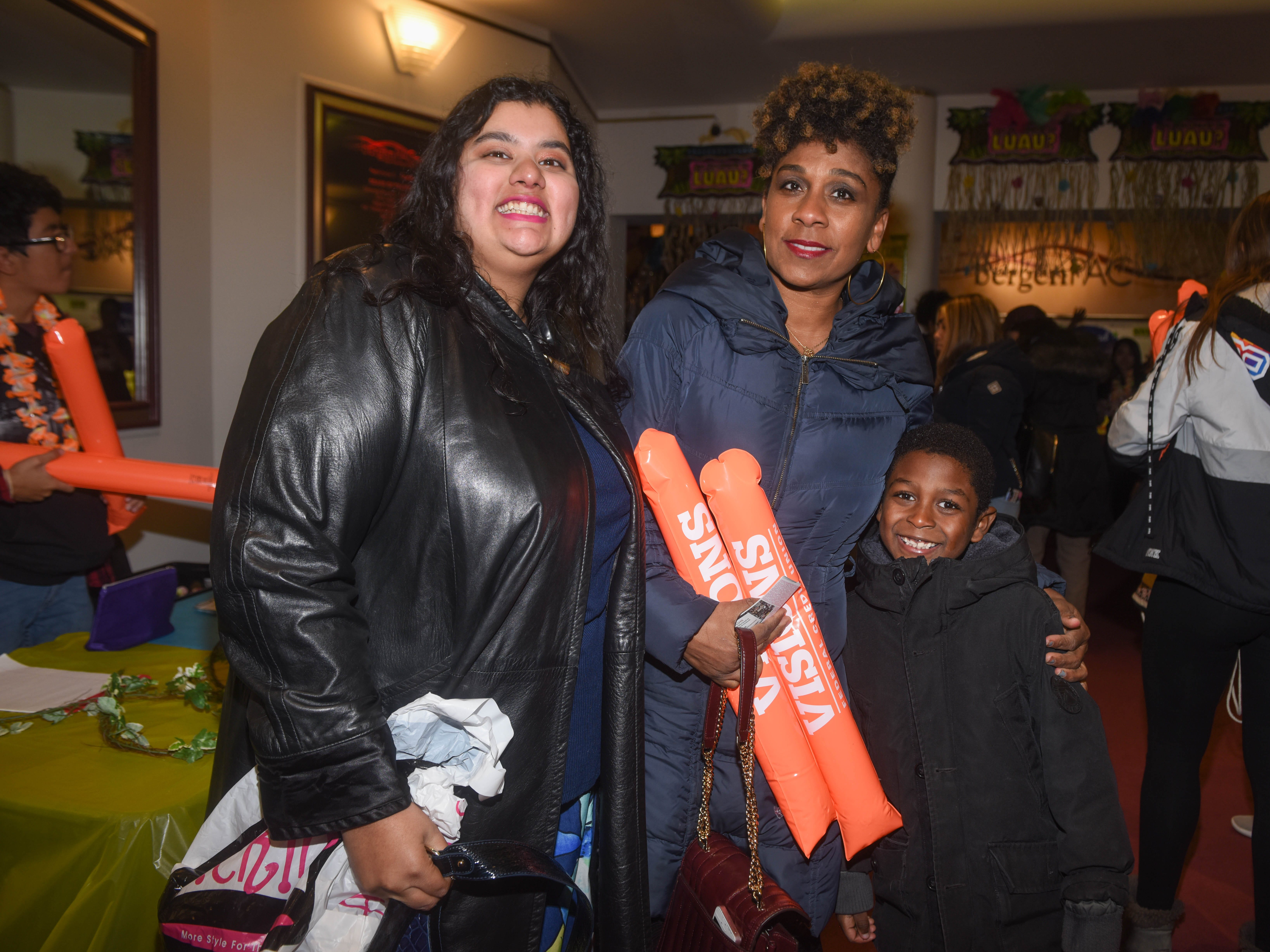 Aurora Ali, Georgia Browning and Remis. The 2019 Englewood Idol was held at bergenPAC theater. The singing competition is open to any high school student who currently lives or goes to school in Englewood, NJ. This years winner was Genesis Capellan. 01/11/2019