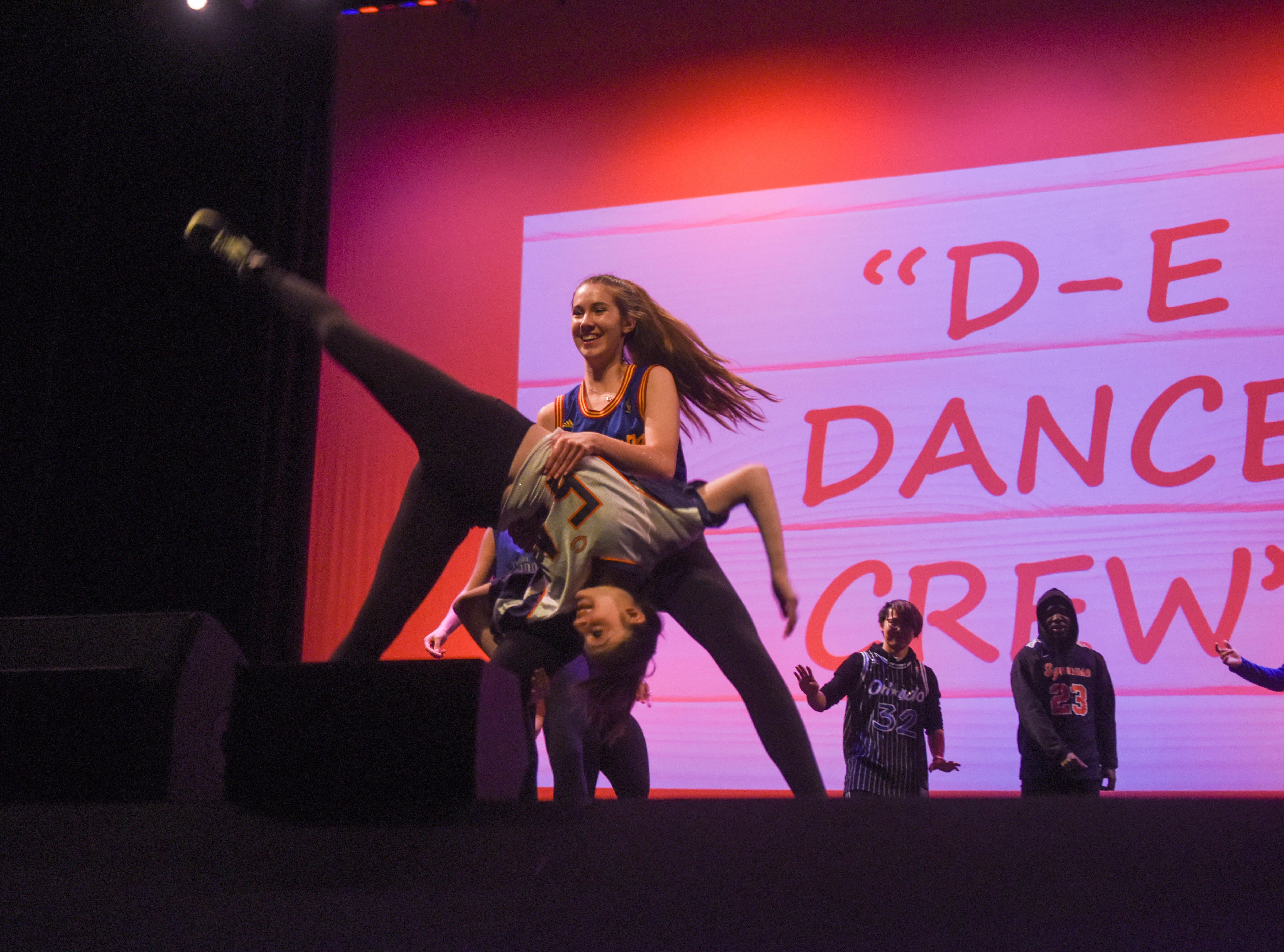 The D-E Dance Crew. The 2019 Englewood Idol was held at bergenPAC theater. The singing competition is open to any high school student who currently lives or goes to school in Englewood, NJ. This years winner was Genesis Capellan. 01/11/2019