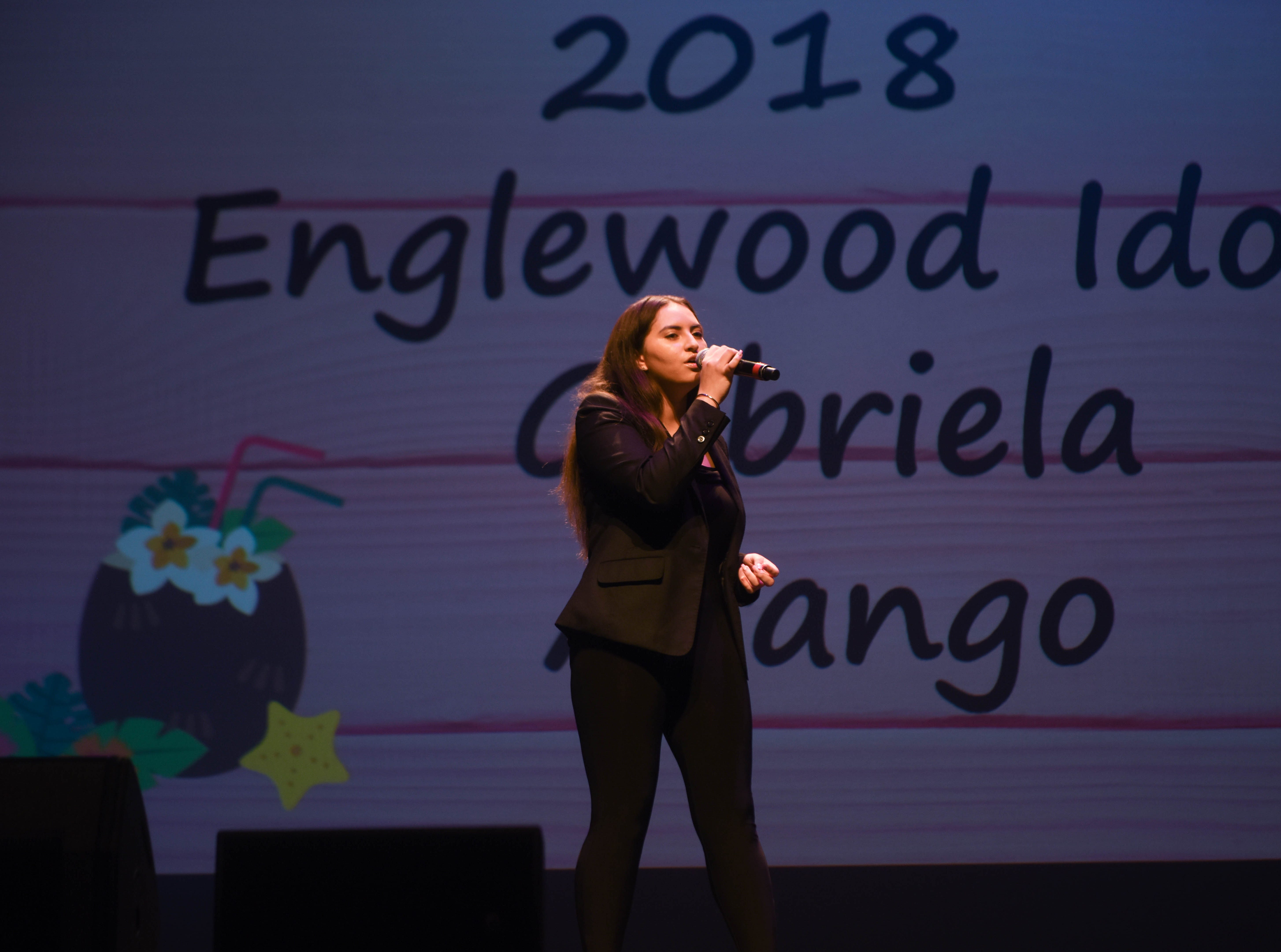 Gabriela Arango (2018 Englewood Idol Winner). The 2019 Englewood Idol was held at bergenPAC theater. The singing competition is open to any high school student who currently lives or goes to school in Englewood, NJ. This years winner was Genesis Capellan. 01/11/2019