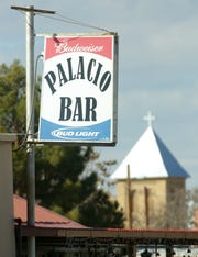 Pictured is the Palacio Bar sign on Sunday, Jan. 13, 2019, in Mesilla, New Mexico.