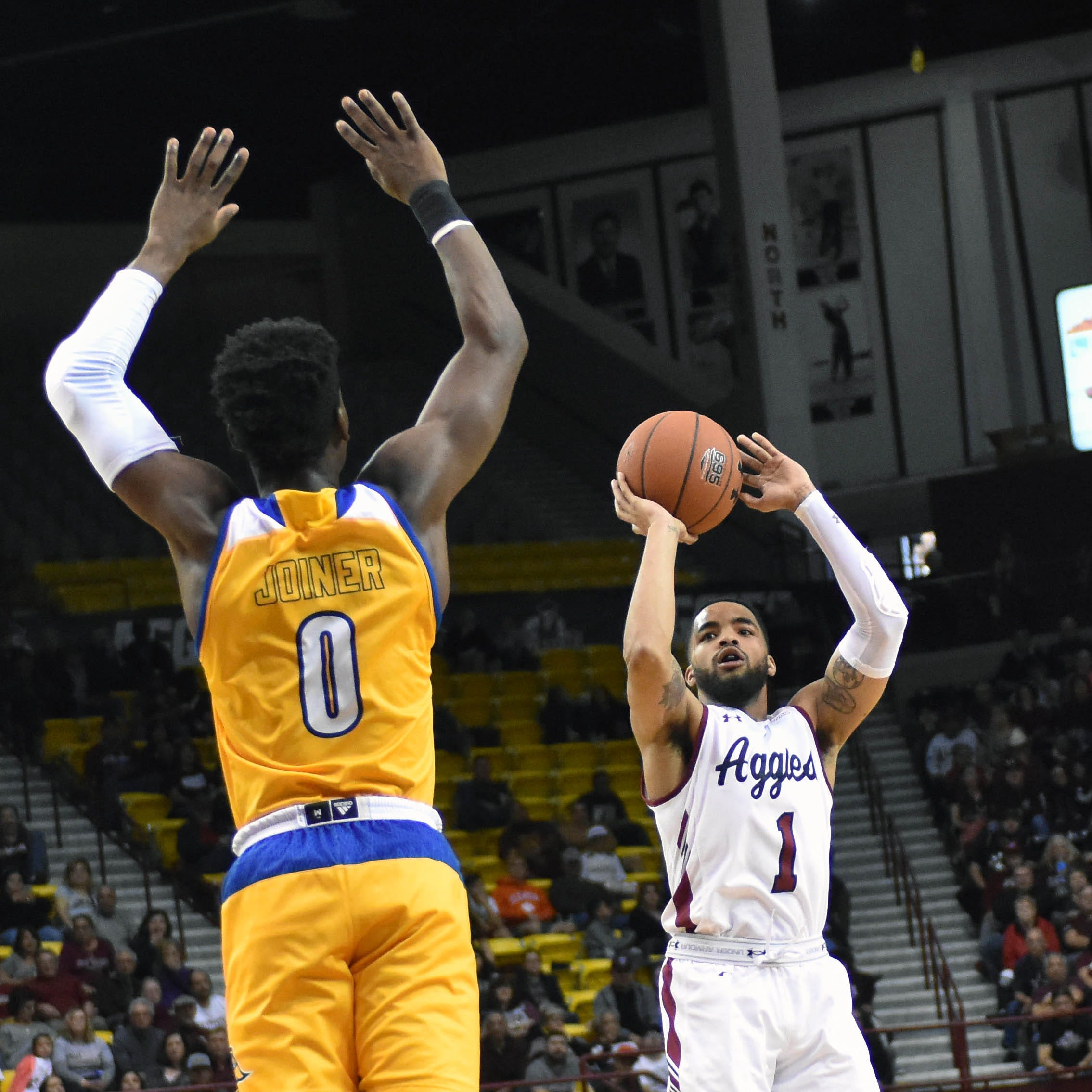 New Mexico State fights off flu, Bakersfield to complete 2-0 WAC weekend