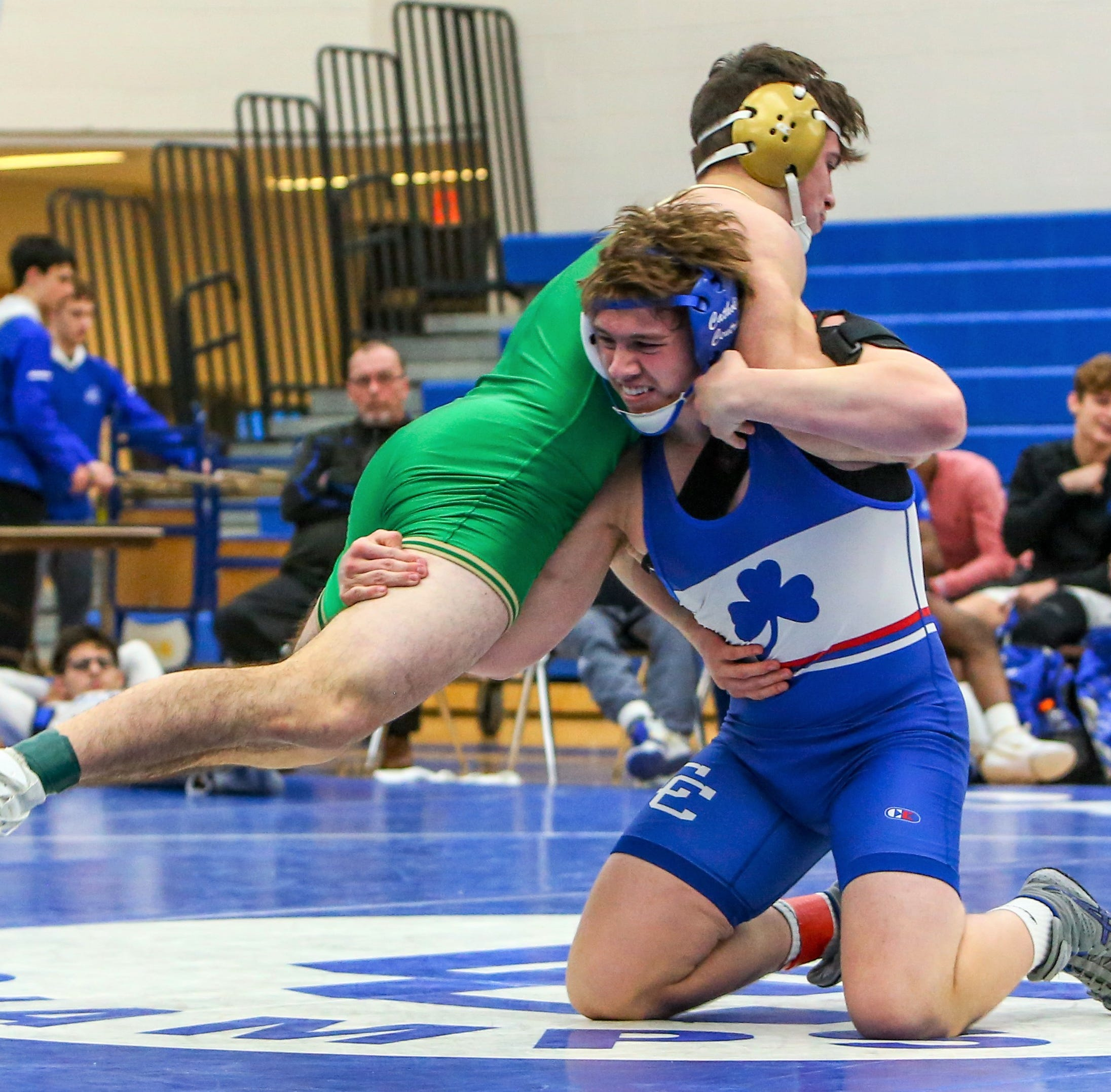 Unbeaten Detroit CC rules Super Duals after pinning Indiana's No. 1 Cathedral