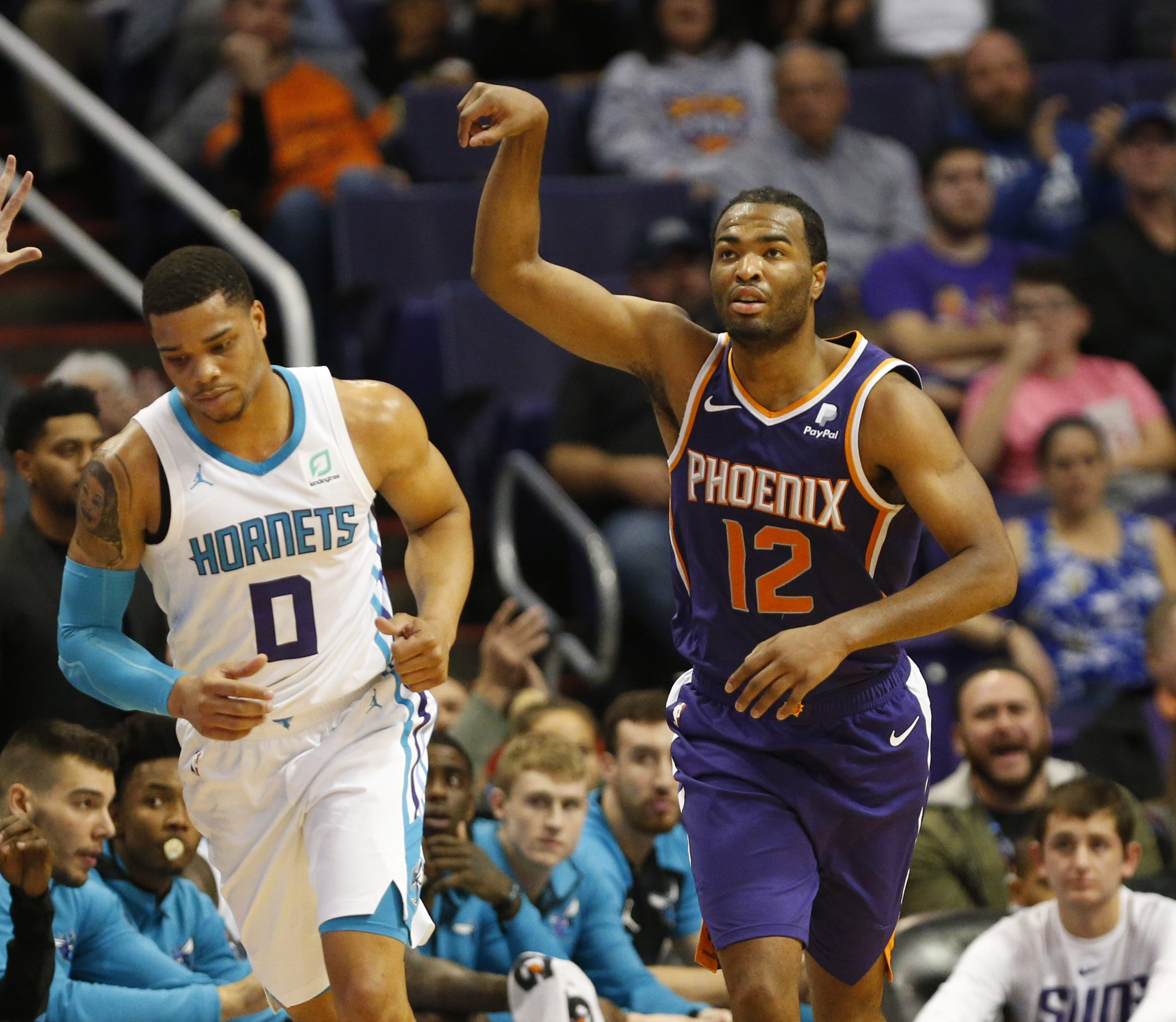 Suns forward T.J. Warren making quiet improvements this season